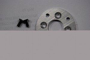 700 Super Scale Motor Adapter Plate