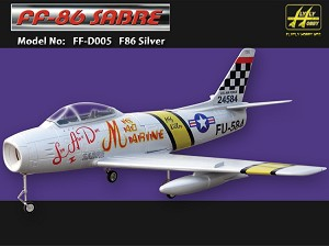 F-86 Sabre W/Fans, Scale Landing Gear and Air Retracts