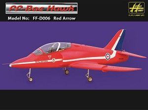 BAE HAWK RED W/ Fans and Air Retracts