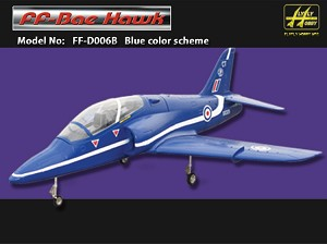 BAE HAWK BLUE W/ Fans and Air Retracts