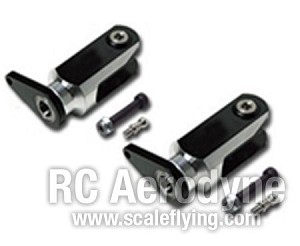 Metal Main Rotor Holder - Black