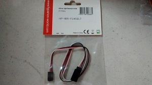 HYPERION 450MM LIGHT EXTENSION CABLE (FUTABA)