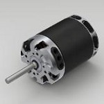 KDE DIRECT 700XF-495 HP BRUSHLESS MOTOR FOR 700/800-CLASS ELECTRIC HELICOPTER SERIES
