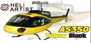 AS350 Yellow and Black ( 450 Size )