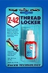 ZAP Z-42 BLUE THREADLOCKER - .2 OZ
