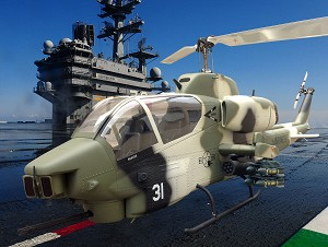 700 Size Bell AH-1W SuperScale™ Cobra (Camo)