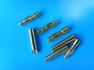 4.0mm High Grade Gold Connectors 10 pairs (20 pcs)