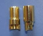 Gold Plated Connector 8mm