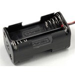 Battery Holder (receiver) for 4 AA Batteries