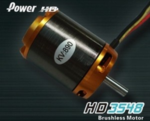 Brushless Motor,890 KV(RPM/V)