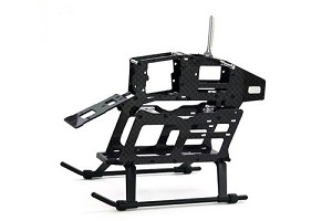 250 Size Carbon Fibre & Metal Main Frame Assembly
