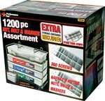 1200-Piece Nut & Bolt Assorment
