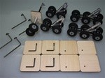 Airbus A380 Scale Landing Gear Set (22 Wheels)