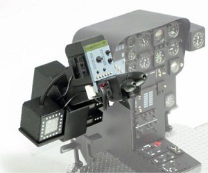 PRO-Heli Century Tow Defender 50 Cockpit Side Part