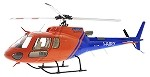 700 Size Super Scale AS350 (Orange/Blue)