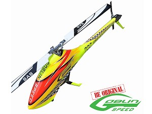 Sab Goblin 700 speed Flybarless Electric Helicopter Yellow Kit