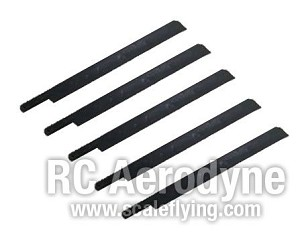 Semi Symmetrical 600mm Scale Rotor Blades - Pack of 5