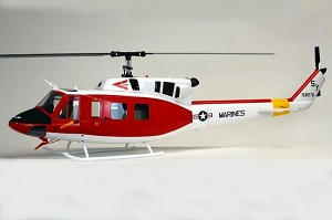 UH-1N Iroquois Twin Huey Rescue Helicopter