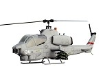 700 Size AH-1W SuperScale(TM) Cobra (Grey)