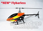 600 CF Pro Flybarless Kit with Canopy- Torque Tube