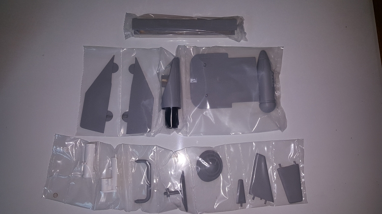 A-10 SCALE FITTINGS SET (GREY)