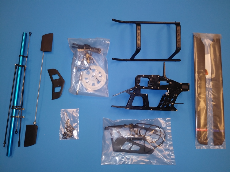 SupeScale Heli Parts 800 Size