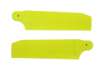 Tail Blade Set Extreme Edition Neon Yellow 104mm