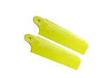 Tail Blade Set Extreme Edition Neon Yellow 84.5mm