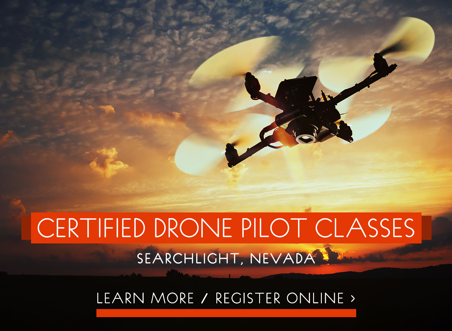 Certified Drone Pilot Classes - Searchlight, Nevada