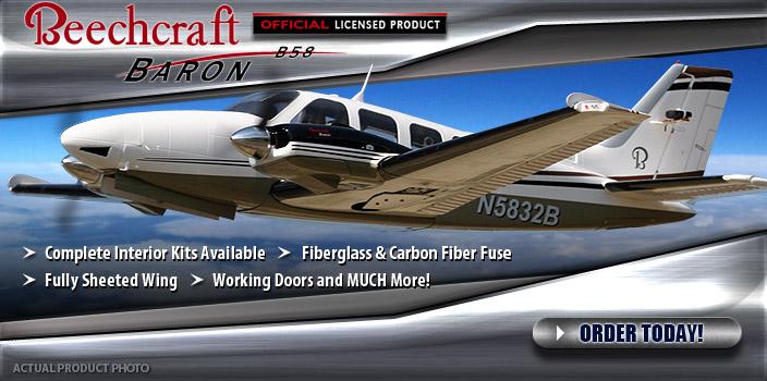 RC Aerodyne Beechcraft Baron G58 Scale ARF
