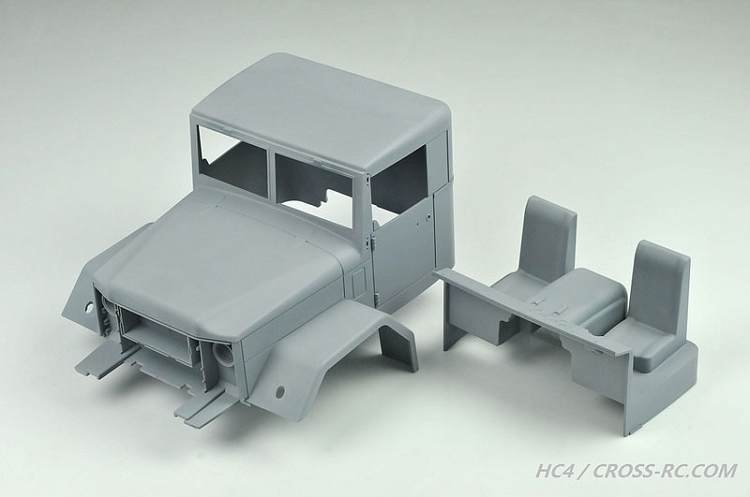 Hc4 Off Road Military Truck Kit 1 10 Scale 4x4