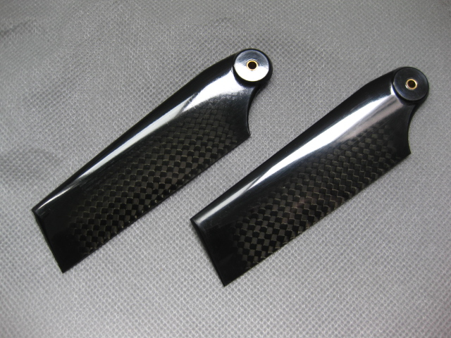 Carbon Fiber Tail Blades for 600 Heli