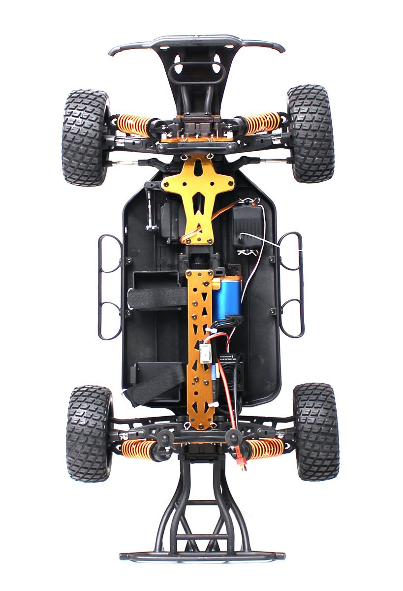 DHK HOBBY - HUNTER BRUSHLESS 1/10 4WD SHORT COURSE TRUCK, READY TO RUN - NO  BATTERY OR CHARGER