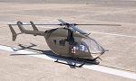Lakota UH-72 Fiberglass Helicopter Fuselage Version 2 Torque Tube