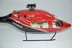 Bell 429 700 size Kit Red and black