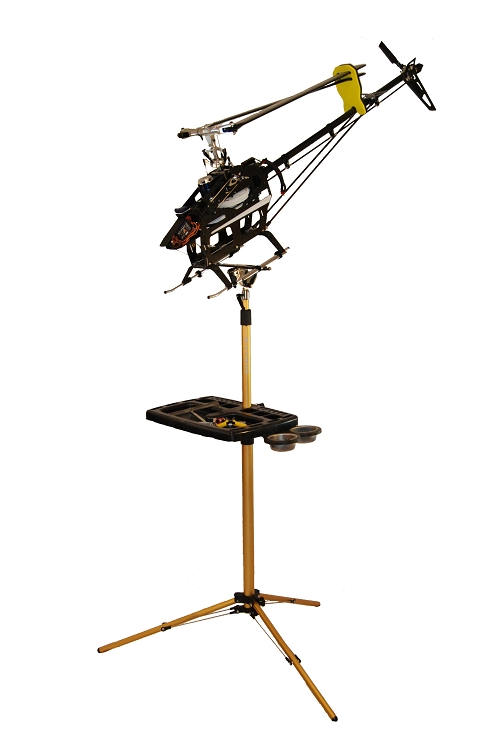 RC Helicopter Workstation with Tilt & Swivel Mount