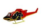 Bell 412 XA-TPO red yellow