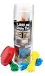 1,000-Piece Cable Tie Assortment