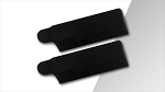 SpinBlades Asymmetrical Scale Tail Blades 105 mm - Matte Black (COPY)