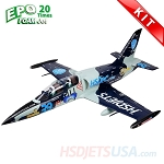 HSDJETS HL-39 Foam Turbine Blue Camo Colors KIT