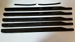 700MM Scale Carbon Fiber  Blade Set for Superscale - MD500 black