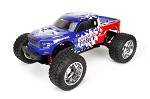 CEN RACING - REEPER AMERICAN FORCE EDITION MEGA MONSTER TRUCK 1/7 RTR, BRUSHLESS W/ HOBBYWING ESC AND SAVOX SERVO