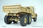 HC6 Off Road Military Truck Kit, 1/10 Scale, 6x6