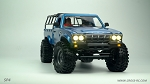 SP4C 1/10 Demon 4x4 Crawler Kit-Full Hard Body Full Metal, CNC Rims