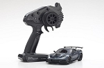 Kyosho - MINI-Z MR-03 RWD Corvette ZR1 Readyset, Gray Metallic w/LED Lights, Readyset