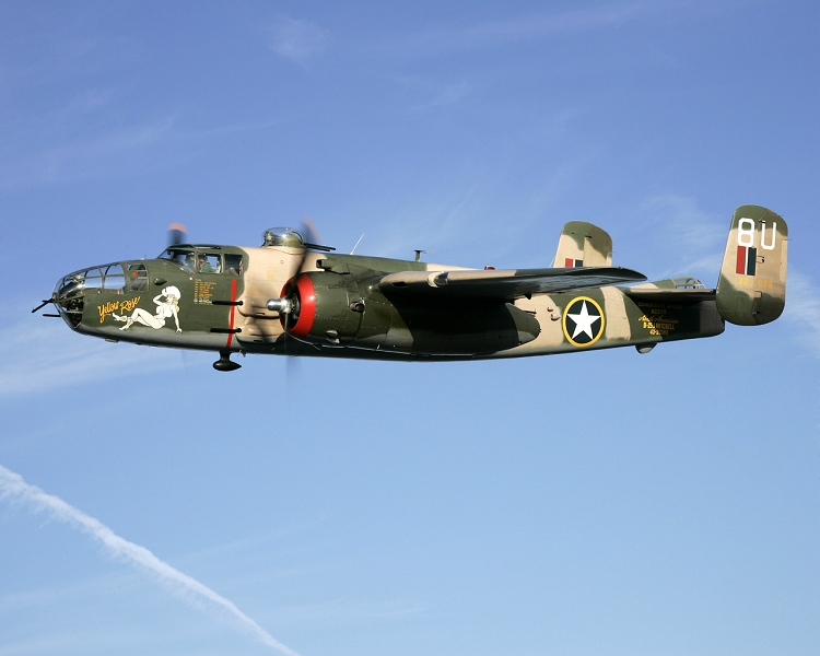 Super Scale B-25 ( Yellow Rose )