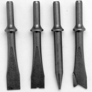 4 Piece Air Chisel Set - AF2065