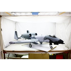 "A-10 Full Composite Super Scale 81"" ARF ( Snow Camo ) match box 1 & 2"