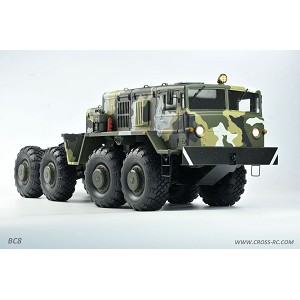 Cross RC - BC8 Mammoth 1/12 Scale 8x8 Off Road Military Truck Kit-Flagship Version