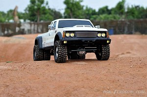 PG4L Dually Pickup Truck Crawler Kit, 1/10 Scale, 4x4, 2-Speed